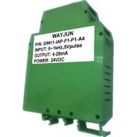 Buy cheap WAYJUN 3000V isolation Frequency to Current/Voltage Isolated Transmitter DIN35 from wholesalers
