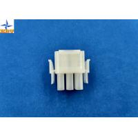 6.35mm Pitch Wire To Wire Connectors Triple Row PA66 Material Crimp type Power Connector Manufactures