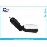 45- Degree Flexible Phone Car Charger 4.8A 2 x USB output and LED Screen Display
