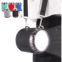 Promotional  Waterproof Bluetooth Speaker Torch Light Small Portable Speaker Manufactures
