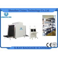 Security Airport Baggage Checking X Ray Luggage Scanner With Dual Energy Generator Manufactures