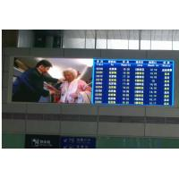 China Indoor scrolling led sign Display , led message boards Manual 256  for airport on sale