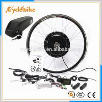 China Fastest Electric Bike Hub Motor Conversion Kit With Batteries 48v 500W on sale