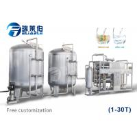 Beverage Production Auxiliary Equipment 100-10000 L 300 R / Min Rotating Speed Manufactures