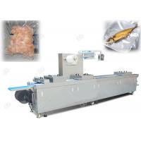 Continuous Efficiency Food Packing Machine , Stretch Film Vacuum Packaging Machine Manufactures