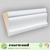 China Gesso Primed MDF Wall Base/Skirting Board/Crown Moulding on sale