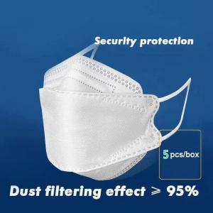 China KN95 Face Mask CE & FDA Certificate Fish Mouth Design Anti-Bacteria Anti-Dust on sale