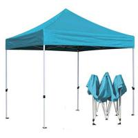 Custom Trade Show Pop Up Canopy Tent , Portable Folding Tent Blue Color Manufactures