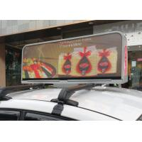1R1G1B digital Taxi Top Led Display , taxi led screen MBI5020 IC driver Manufactures