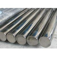 Building 201 202 316l Stainless Steel Rod , Max 18m Pickled Stainless Round Stock Manufactures