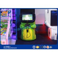 Green Virtual Reality Equipment Electric  Kids Vr Coin Game Machine Manufactures