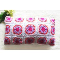 China Crochet Pillows and Cushions 100% Handmade Cotton Cushion Covers on sale