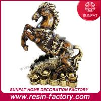 China Customized Resin Horse figurine for Table Decoration on sale