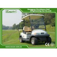 EXCAR A1S2 White 48V Trojan Battery Operated Electric Golf Carts Manufactures