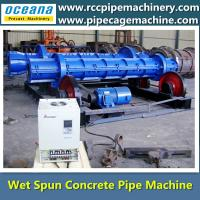 Centrifugal Spinning pipe Machine for beton pipe Manufactures