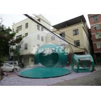 Custom-made PVC and PVC Tarpaulin Inflatable Bubble Tent For Camping Party Manufactures
