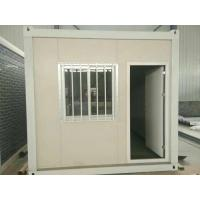 Dormitory One Bedroom Container Home , Anti Fire Thick Metal Container Houses Manufactures