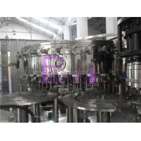 3 In 1 Monoblock Washing Filling Capping Machine For Juice Beverage / Wine Manufactures