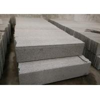 Sesame White Granite Stone Stairs , G655 Granite Outdoor Steps High Hardness Manufactures
