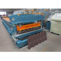 Cr12 Mould Steel Cutter Roof Tile Roll Forming Machine 5.5KW ISO9001 Manufactures