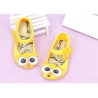 Ankle Strap Little Kids Shoes Baby Girl Sandals With Lovely Owl Bird Decorations Manufactures
