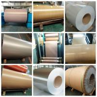 A1100 3003 Alloy Colored Aluminum Foil Sheets Pre - Painted Roller - Coating For Building Material Manufactures