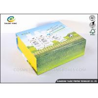 Handmade Foldable Gift Boxes Colorful Appearance Excellent Scratch Resistance Manufactures