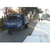 Paving Polyester Spunbond geotextile fabric driveway for reduce reflective cracking Manufactures
