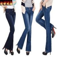 new fashion women jeans mini bell bottoms china factory wholesales Manufactures