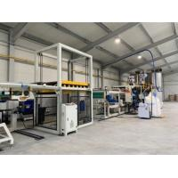 High Output Pp Sheet Machine Vaccum Forming Sheet Extrusion Equipment SGS Manufactures