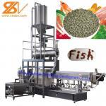 SLG95 Fish Feed Processing Machine , Pet Food Processing Machinery Aquatic Catfish Manufactures