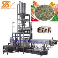China SLG95 Fish Feed Extruder Pellet Making Machine Engineer Install Service on sale