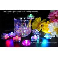 Round / Flower Shape Submersible Led Light For Wedding Decoration Manufactures