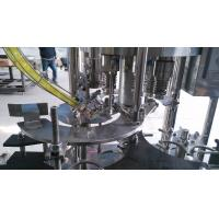 PET / Glass Bottle Bottle Capper Machine 6000BPH Automatic Manufactures