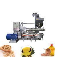 China Customized Voltage Camellia Oil Manufacturing Machine With Oil Cake Feeding System on sale