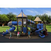 Park Amusement Outdoor Playground Equipment With Lldpe Slide Manufactures