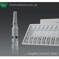 Fast Acting Pain Control Topical Anaesthetic Cream , Permanent Tattoo Skin Numbing Cream Gel Manufactures