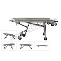 Stainless Steel Automatic Loading Funeral Stretcher With Detachable Tray Manufactures