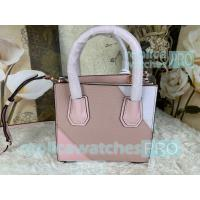 China New Knockoff Michael Kors Mercer Pink Genuine Leather Women's Bag on sale