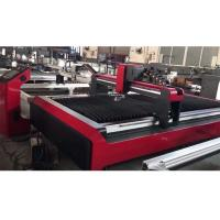 China High Precision CNC Plasma Cutting Machine Double Drive Table Type Low Noise on sale