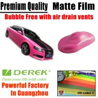 Matte Car Wraps Vinyl Film - Matte Coffee/Brown/Chocolate Car Wrapping Film Manufactures