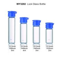 50g 40ml Small Lotion Bottle ,  Glass Cosmetic Containers With Crown Cap Manufactures