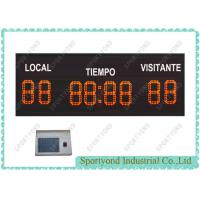 Electronic Football Game Scoreboard / LED Soccer Scorekeeper Manufactures