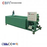 1000Kg - 100000Kg Capacity Ice Block Machine With PLC Controller Manufactures