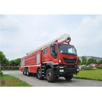 IVECO Chassis Water Tower Fire Truck High Spraying 500mm Fording Depth Manufactures