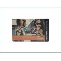 China Lightweight RFID PVC Card , Programmable Thin Contactless Smart Card on sale