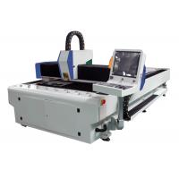 High Efficiency Laser Wood Cutting Machine 1000W , Cnc Metal Laser Cutter Low Noise Manufactures