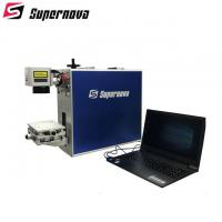 Manual Up Down Small Laser Engraving Machine , Laser Marking Machine For Jewellery Manufactures
