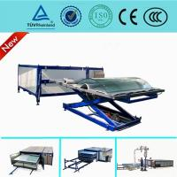 Quality EVA Curved Laminated Glass Machine , Industrial Laminating Machine Autoclave Free for sale