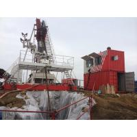Rods feeding Slanted Workover Drill Rig RX250 used for the construction of horizontal, directional and vertical wells Manufactures